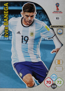 WORLD CUP RUSSIA 2018 ARGENTYNA TEAM BANEGA 10