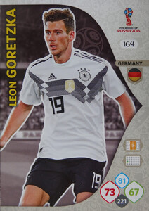 WORLD CUP RUSSIA 2018 TEAM MATE NIEMCY GORETZKA 164