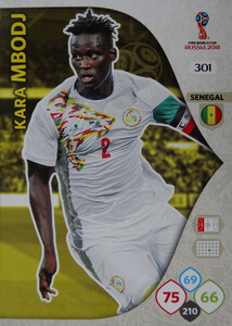 WORLD CUP RUSSIA 2018 TEAM MATE SENEGAL MBODJ 301