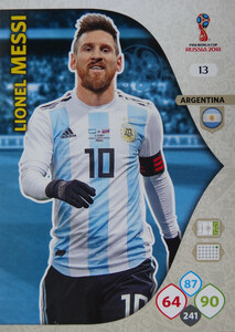 WORLD CUP RUSSIA 2018 ARGENTYNA TEAM MESSI 13