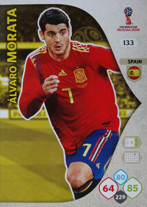 WORLD CUP RUSSIA 2018 TEAM MATE HISZPANIA MORATA 133