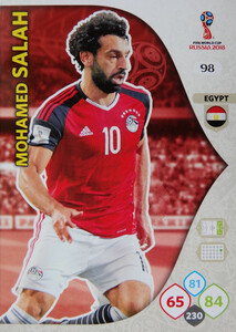 WORLD CUP RUSSIA 2018 EGIPT TEAM MATE SALAH 98