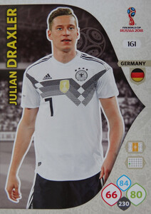 WORLD CUP RUSSIA 2018 TEAM MATE NIEMCY DRAXLER 161