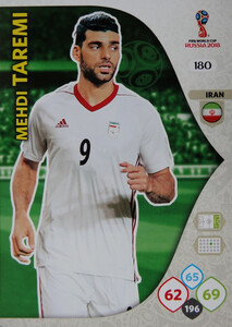 WORLD CUP RUSSIA 2018 TEAM MATE IRAN TAREMI 180