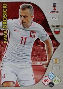 WORLD CUP RUSSIA 2018 TEAM MATE POLSKA GROSICKI 268