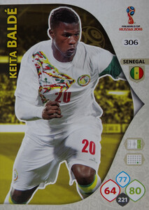 WORLD CUP RUSSIA 2018 TEAM MATE SENEGAL BALDE 306