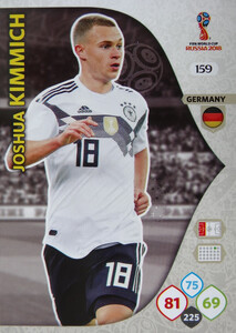 WORLD CUP RUSSIA 2018 TEAM MATE NIEMCY KIMMICH 159