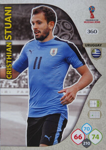 WORLD CUP RUSSIA 2018 TEAM MATE URUGWAJ STUANI 360