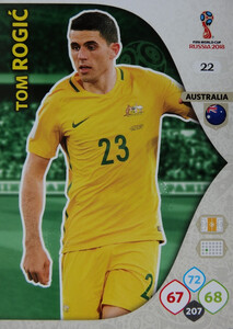 WORLD CUP RUSSIA 2018 AUSTRALIA TEAM ROGIC 22