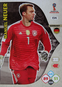 WORLD CUP RUSSIA 2018 TEAM MATE NIEMCY NEUER 154