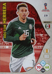 WORLD CUP RUSSIA 2018 TEAM MATE MEKSYK HERRERA 231