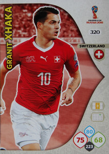 WORLD CUP RUSSIA 2018 TEAM MATE SZWAJCARIA XHAKA 320