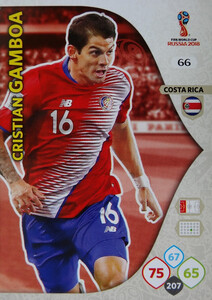 WORLD CUP RUSSIA 2018 COSTA RICA TEAM MATE GAMBOA 66