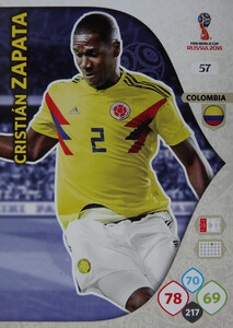WORLD CUP RUSSIA 2018 KOLUMBIA TEAM ZAPATA 57