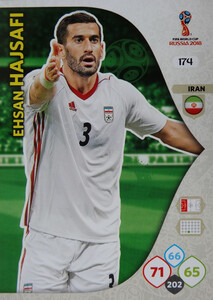 WORLD CUP RUSSIA 2018 TEAM MATE IRAN HAJSAFI 174