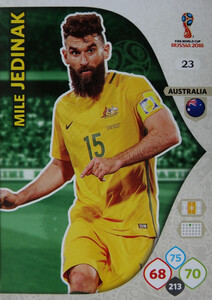 WORLD CUP RUSSIA 2018 AUSTRALIA TEAM JEDINAK 23