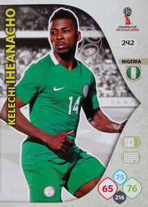WORLD CUP RUSSIA 2018 TEAM MATE NIGERIA IHEANACHO 242