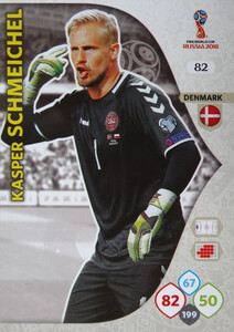 WORLD CUP RUSSIA 2018 DANIA TEAM MATE SCHMEICHEL 82