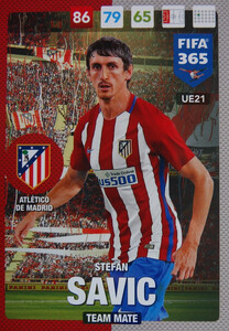 #21 STEFAN ASVIC - ATLETICO de MADRID