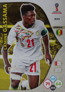 WORLD CUP RUSSIA 2018 TEAM MATE SENEGAL GASSAMA 300