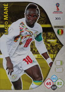 WORLD CUP RUSSIA 2018 TEAM MATE SENEGAL MANE 305
