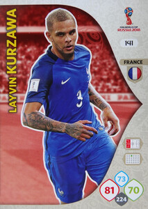 WORLD CUP RUSSIA 2018 TEAM MATE FRANCJA KURZAWA 141