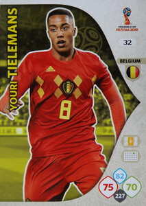 WORLD CUP RUSSIA 2018 BELGIA TEAM TIELEMANS 32