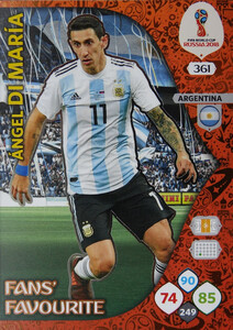 WORLD CUP RUSSIA 2018 FANS FAVOURITE Di MARIA 361