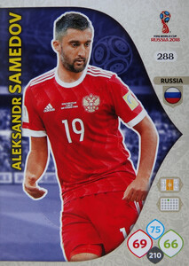 WORLD CUP RUSSIA 2018 TEAM MATE ROSJA SAMEDOV 288