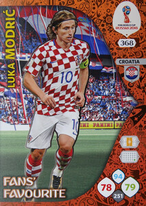 WORLD CUP RUSSIA 2018 FANS FAVOURITE MODRIC 368
