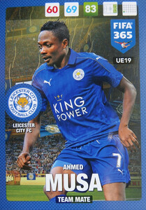 #19 AHMED MUSA - LEICESTER CITY