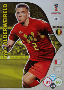 WORLD CUP RUSSIA 2018 BELGIA TEAM ALDERWEIRELD 30