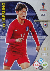 WORLD CUP RUSSIA 2018 TEAM MATE KOREA JAESUNG 205
