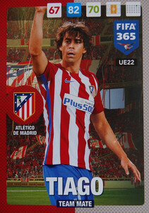 #22 TIAGO - ATLETICO de MADRID