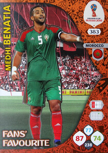 WORLD CUP RUSSIA 2018 FANS FAVOURITE BENATIA 383