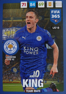 #18 ANDY KING - LEICESTER CITY