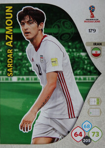 WORLD CUP RUSSIA 2018 TEAM MATE IRAN AZMOUN 179