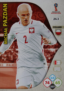 WORLD CUP RUSSIA 2018 TEAM MATE POLSKA PAZDAN 263