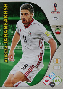 WORLD CUP RUSSIA 2018 TEAM MATE IRAN JAHANBAKHSH 178
