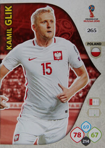WORLD CUP RUSSIA 2018 TEAM MATE POLSKA GLIK 265
