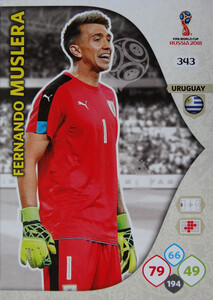 WORLD CUP RUSSIA 2018 TEAM MATE URUGWAJ MUSLERA 343