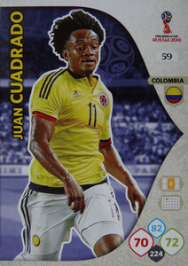 WORLD CUP RUSSIA 2018 KOLUMBIA TEAM CUADRADO 59