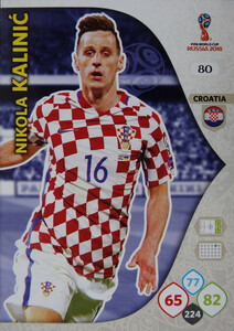 WORLD CUP RUSSIA 2018 CHORWACJA TEAM MATE  KALINIĆ 80