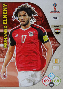 WORLD CUP RUSSIA 2018 EGIPT TEAM MATE ELNENY 94