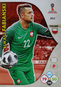 WORLD CUP RUSSIA 2018 TEAM MATE  POLSKA FABIAŃSKI 262