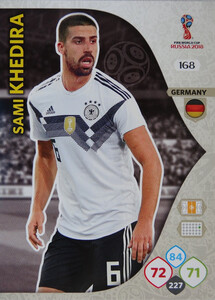 WORLD CUP RUSSIA 2018 TEAM MATE NIEMCY KHEDIRA 168