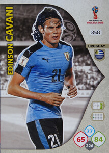WORLD CUP RUSSIA 2018 TEAM MATE URUGWAJ CAVANI 358