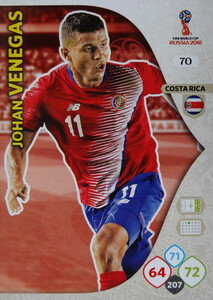WORLD CUP RUSSIA 2018 COSTA RICA TEAM MATE VENEGAS 70