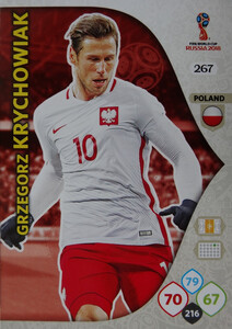 WORLD CUP RUSSIA 2018 TEAM MATE POLSKA KRYCHOWIAK 267
