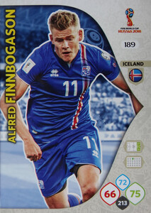 WORLD CUP RUSSIA 2018 TEAM MATE ISLANDIA FINNBOGASON 189